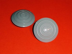 Swing arm pivot plugs for Ducati singles and twins with 22mm ID shafts