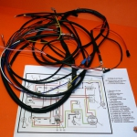 Full wiring loom for Ducati wide case models with electronic ignition