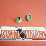 n. 2 valve caps in VITON for all Ducati single wide case engine