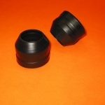 2 Marzocchi Rubber dust caps Ø35 for Ducati Scrambler, Desmo,RT