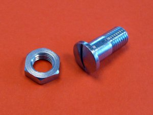 Brake or decompressor lever pivot bolt for Ducati narrow and wide case