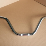 Sport type chromium-plated handlebar for Ducati Scrambler 1st and 2nd series