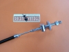 Back brake control tie-rod with stop switch for Ducati Twin with drum brake