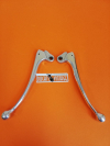 Pair levers clutch and front brake lever (large type), original, with small defect,for Ducati Scrambler 1st series and Ducati RT