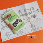 Book:  Instructions for use and maintenance (in italian) 450cc Scrambler,Desmo,Mark3