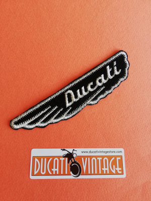 Ducati wing patch for jacket cm.12 x 3 is possible sewing or paste