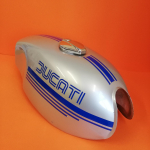 Iron tank used for Ducati Desmo Yellow, original in excellent condition, no dent Original Ducati product