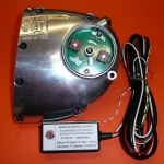 Electronic ignition set 12v wiring for Ducati monocylinders wide case 450cc