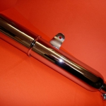 Short silencer U.S.A. type for Ducati wide case models