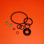 Rubber seal set complete with Viton valve cap for Ducati wide case engines