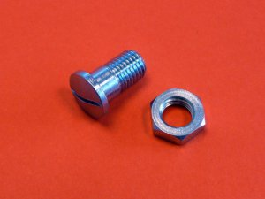 brake and clutch lever nut + screw for Ducati Scrambler and RT