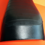 Ribbed seat  without Ducati brand like original for Ducati RT Cross