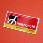 Marzocchi decals fork place on the left tube Ducati Scrambler and RT