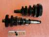 Complete 5-speed transmission original, used excellent condition, for single cylinder Ducati wide case, Ducati Scrambler, Ducati Desmo Yellow, Ducati Desmo Shotgun, Ducati Desmo Mark, Ducati RT