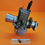 Used carburetor in very good condition, original Dell'Orto VHB26BD Suitable for single-cylinder Ducati 250cc wide case - prepared with calibration 250 air filter F 20