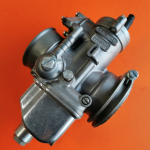 Pair of original Dell'Orto PHF30AS and PHF30AD carburettors, new excellent condition, suitable for Ducati twin 750GT