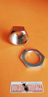 Pair of nuts for steering head tube for Ducati RT