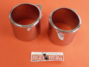 Pair of instruments holder  for CEV Ø 60 used excellent condition for Ducati Scrambler 1st series