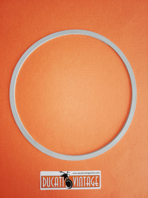 Gasket for headlamp lens Ø170, silicone rubber Ducati 750 GT Ducati 750 Sport Ducati 750/900 Super Sport e Ducati 860