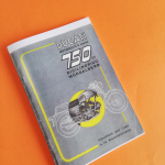 Instructions for use and maintenance Ducati 750 GT in Italian language