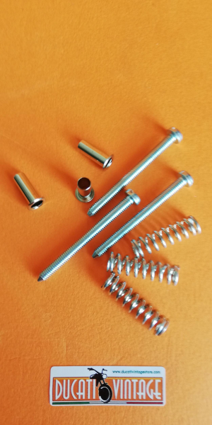 Kit screws and fixing accessories for Aprilia headlight ring for Ducati 750 GT and Ducati 750S
