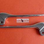 Pair of lever (clutch and front brake) replica identical Ducati 125 175 200cc