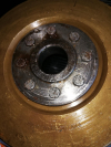 Magnetic flywheel stator alternator Ducati Elettrotecnica, used, excellent conditions like new, perfectly magnetized